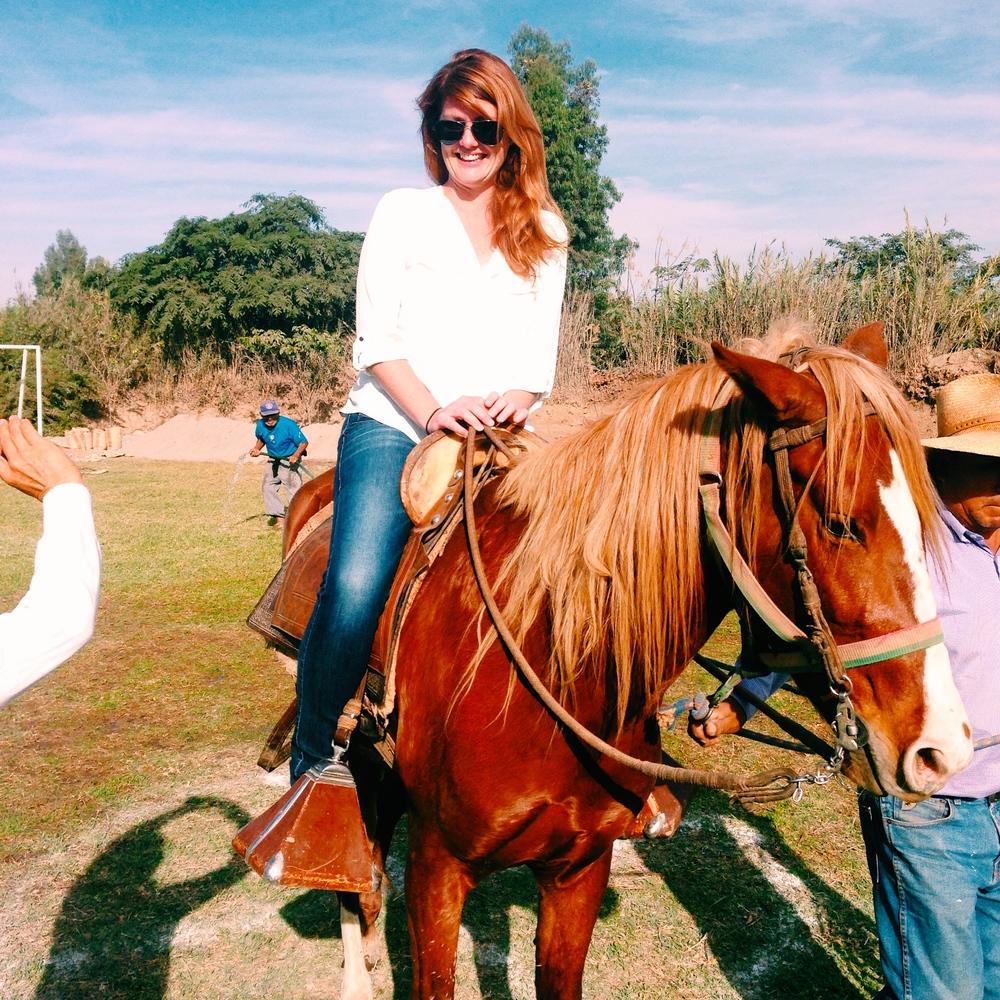 Horseriding at Hacienda San Juan