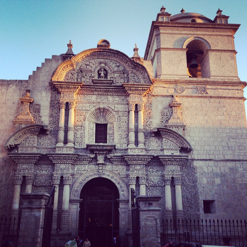 Arequipa's main square