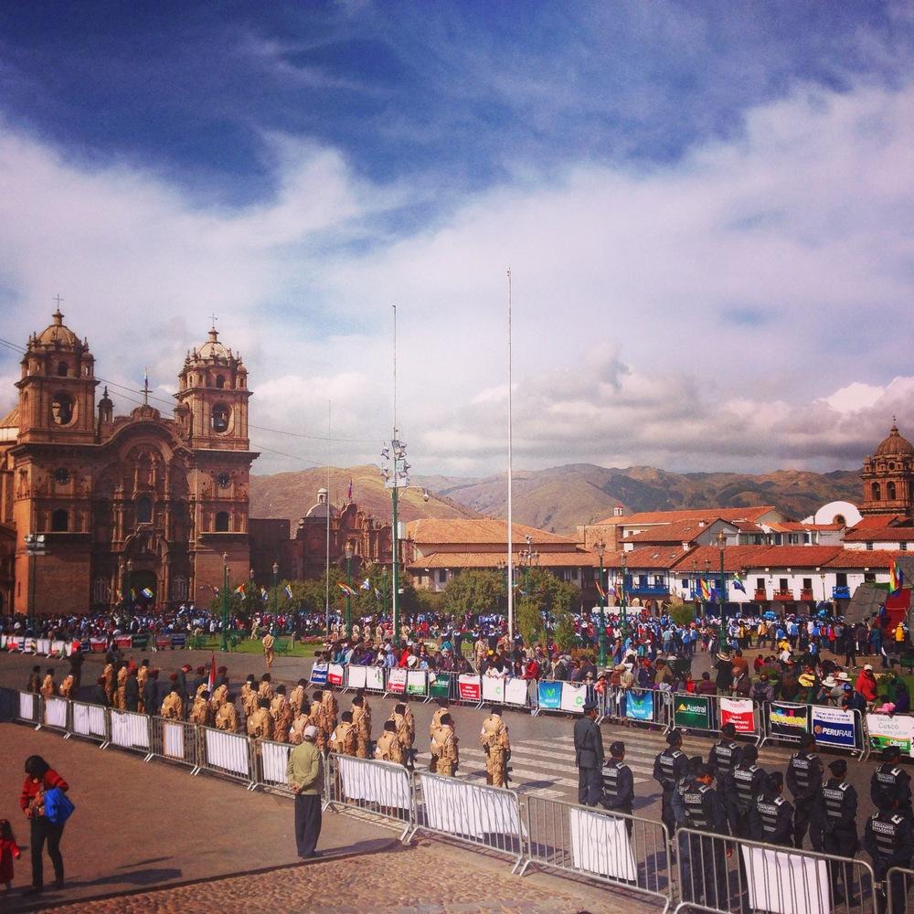 Cusco's main square