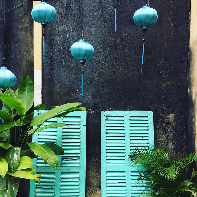 Lanterns and shutters