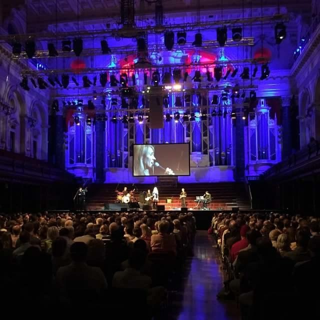 Sydney Town Hall with Rebecca St James 2015