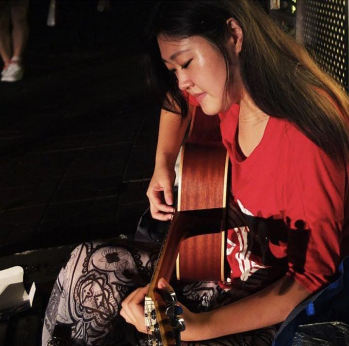 Before starting her own adult toys micro-shop and Taobao shop, Bai Erpang busked and hawked goods on a street in Shenzhen. Photo credit: Bai Erpang.