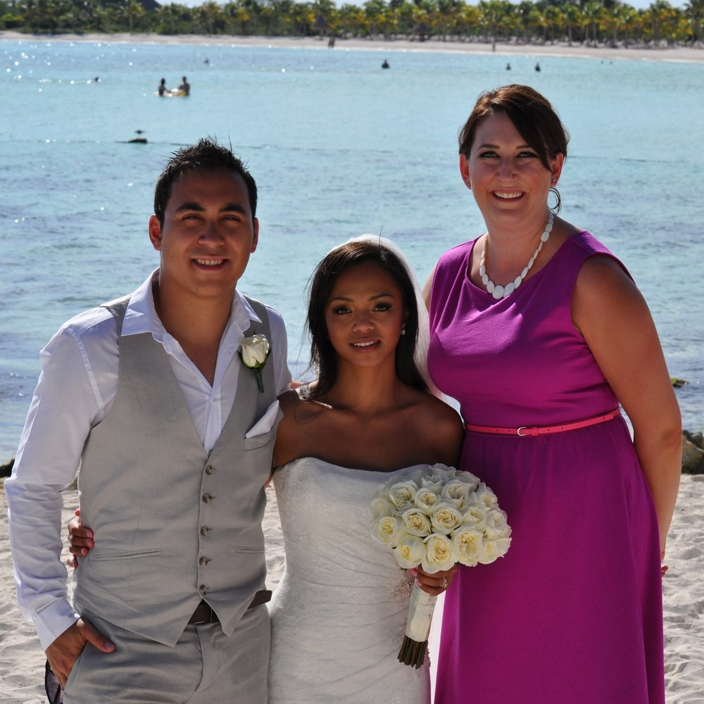 Joshua &Giane Fernandes with Nicolle Wilhauk