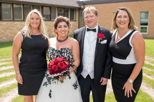 Curtis & Savannah Dickson with Nicolle & Assistant Lisa
