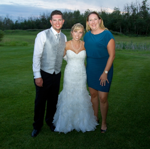 Jared & Samantha Brown with Nicolle Wilhauk