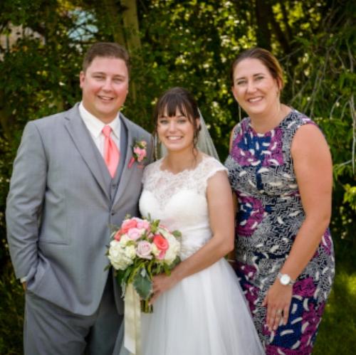 Parker & Sarah Thomas with Nicolle Wilhauk