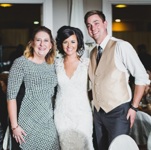 Drew & Jannelle Burgess with Nicolle Wilhauk