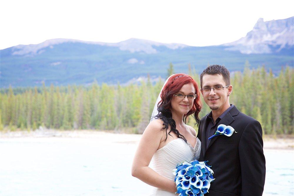 Melissa and Chris Daley in Jasper, Alberta