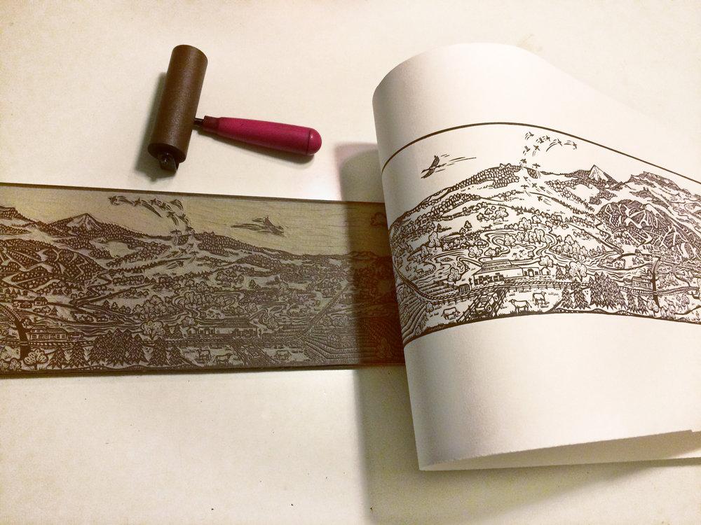 Printing Yampa linocut.jpg