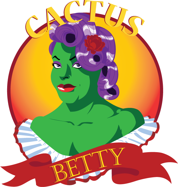 Logo design for my wife's clothing company, Cactus Betty.