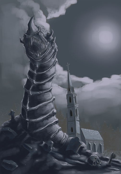 Graveworm. Based on the Italian gothic metal band.