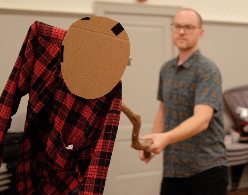 Puppetry workshop with PigPen Theatre Co.