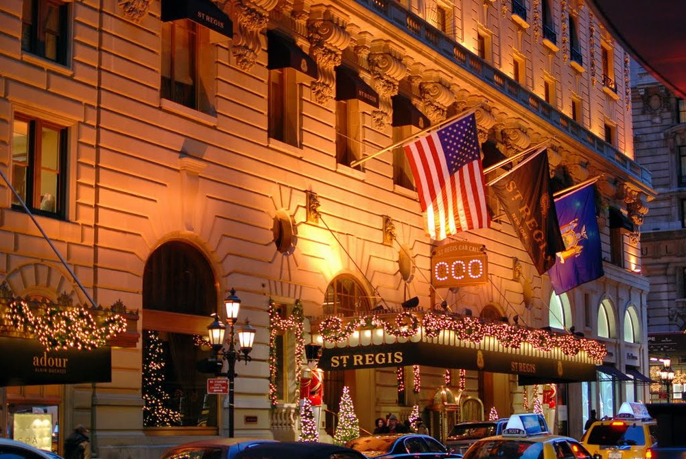 St. Regis Hotel, New York