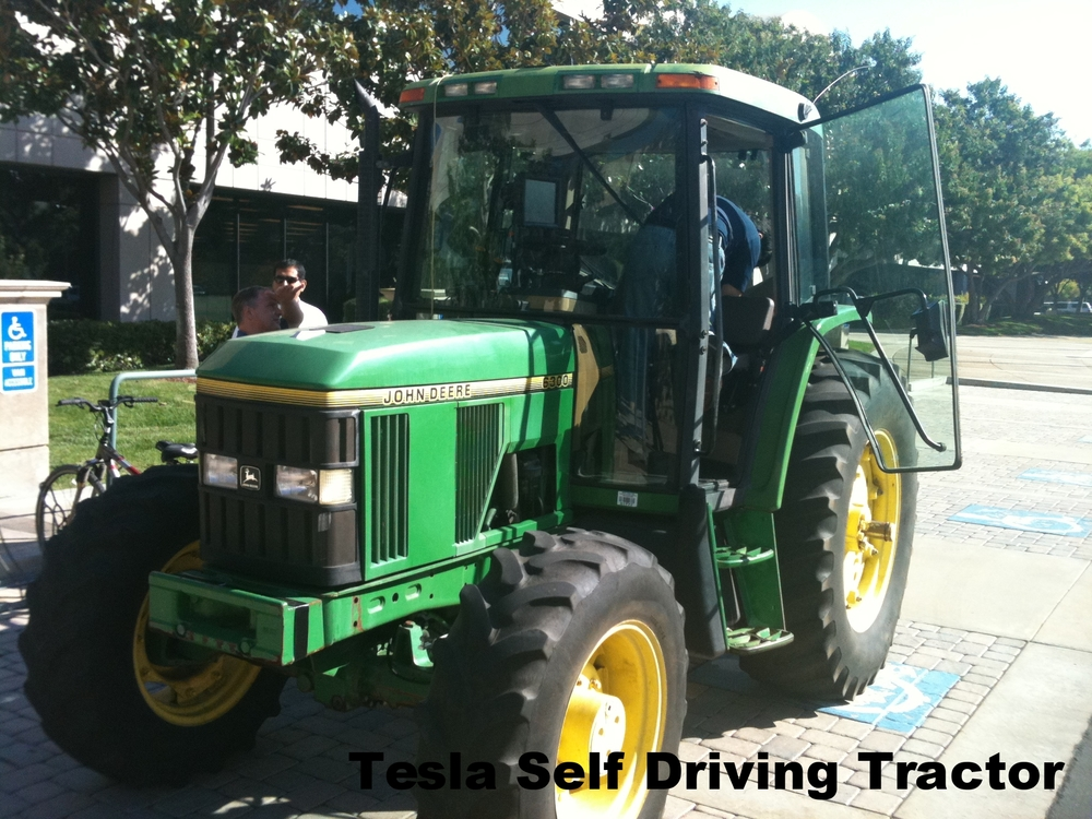Trimble Navigation Self Driving Tractor