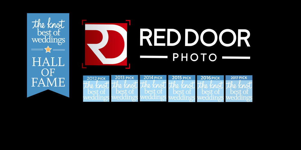The Knot Best of Weddings awarded to Red Door Photo and Design for Six years in a row.  Red Door Photo and Design has been picked by Iowa Brides as one of the Best Wedding Photographers in Iowa.