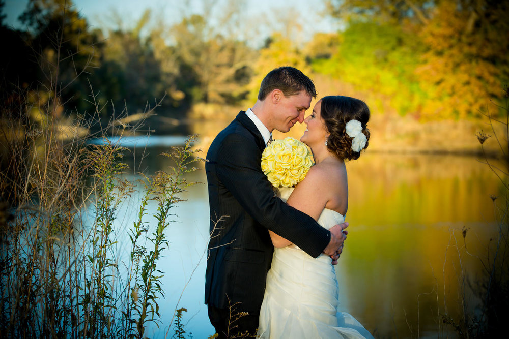 Fall Wedding Photography by Red Door Photo.