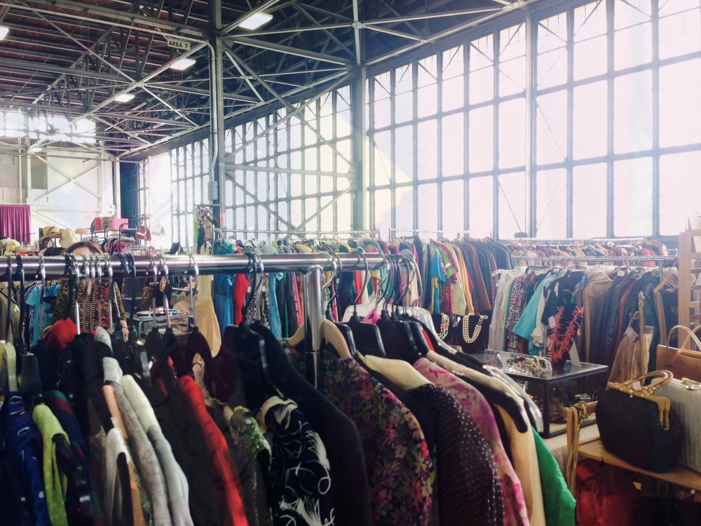 Alameda Point Vintage Fashion Faire - June 14, 2014