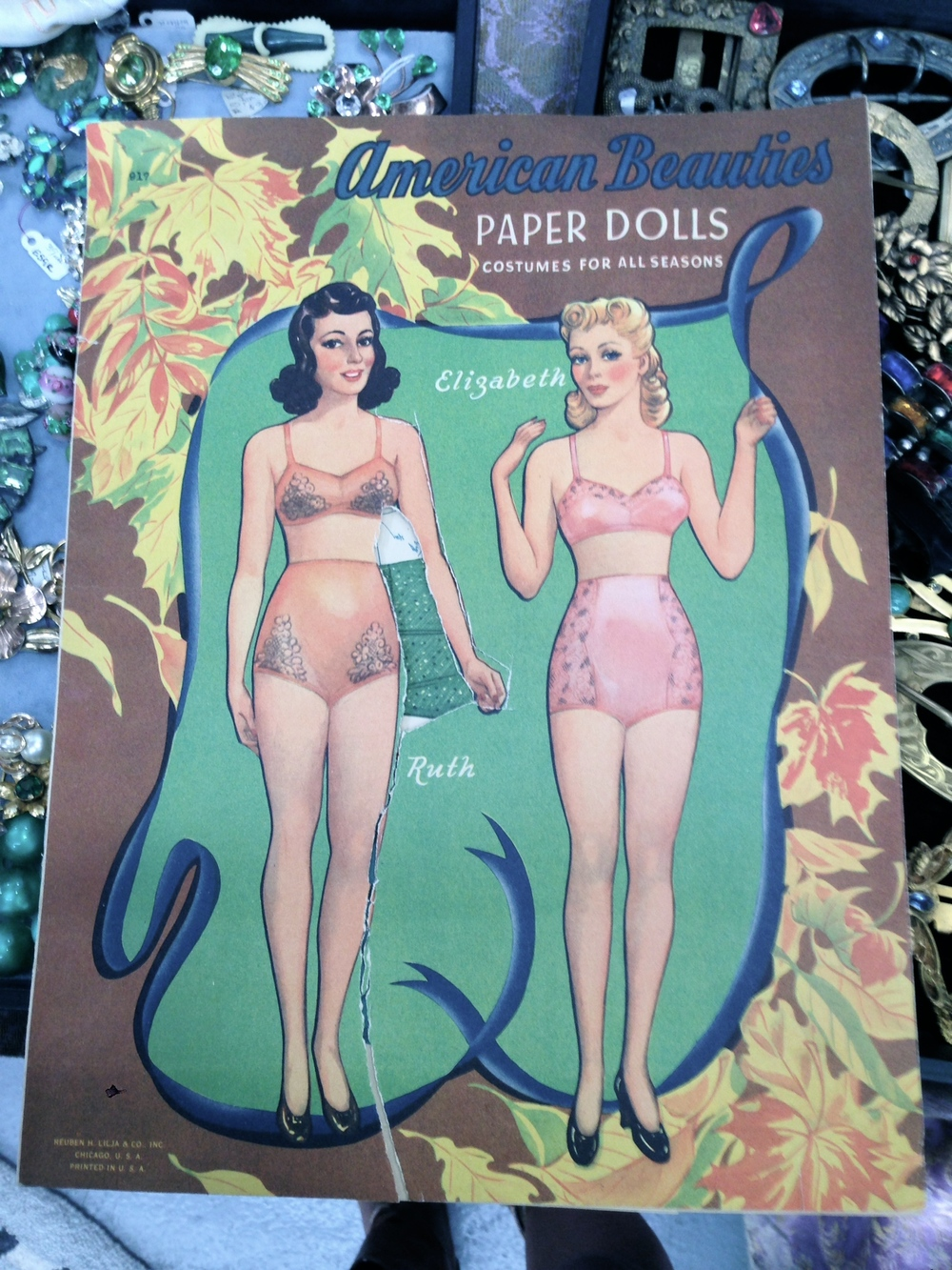 American Beauties Paper Dolls