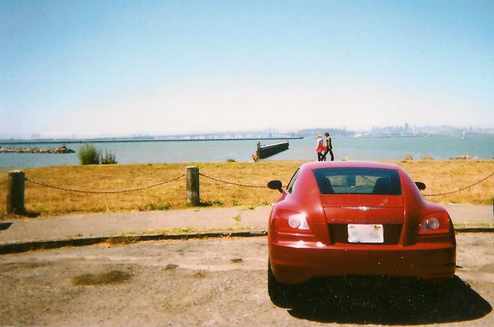 Berkeley Marina, CA  my new whip, red bean