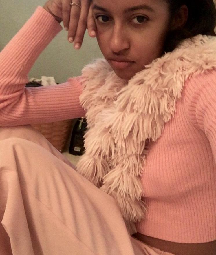 Cropped Sweater - Unif Sweater - Principessa  Pink Pants - Silverlake Flea market