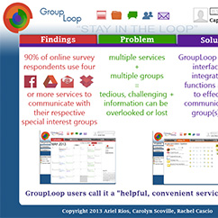 UX Design and Research -GroupLoop