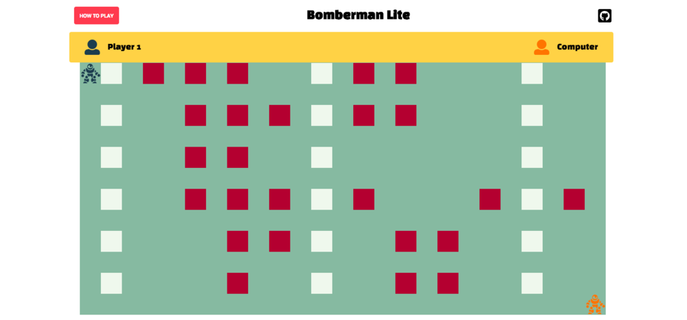 Bomberman Lite Gameplay