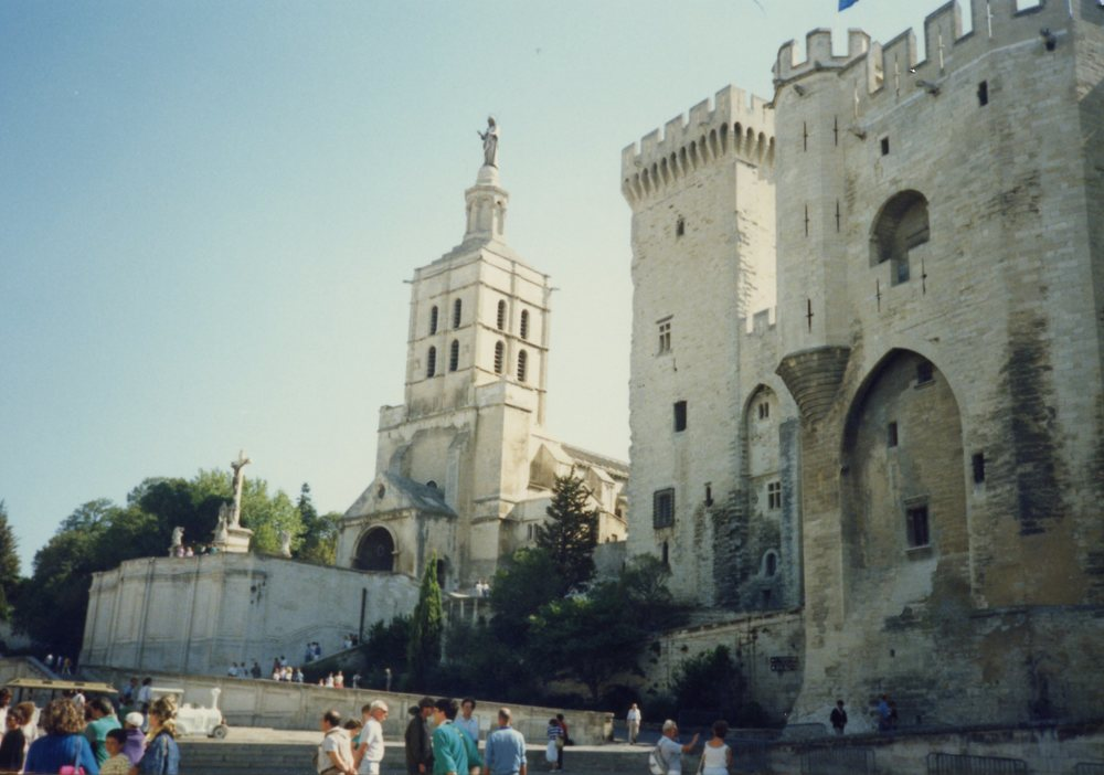 The Popes' Palace, Avignon (1990).