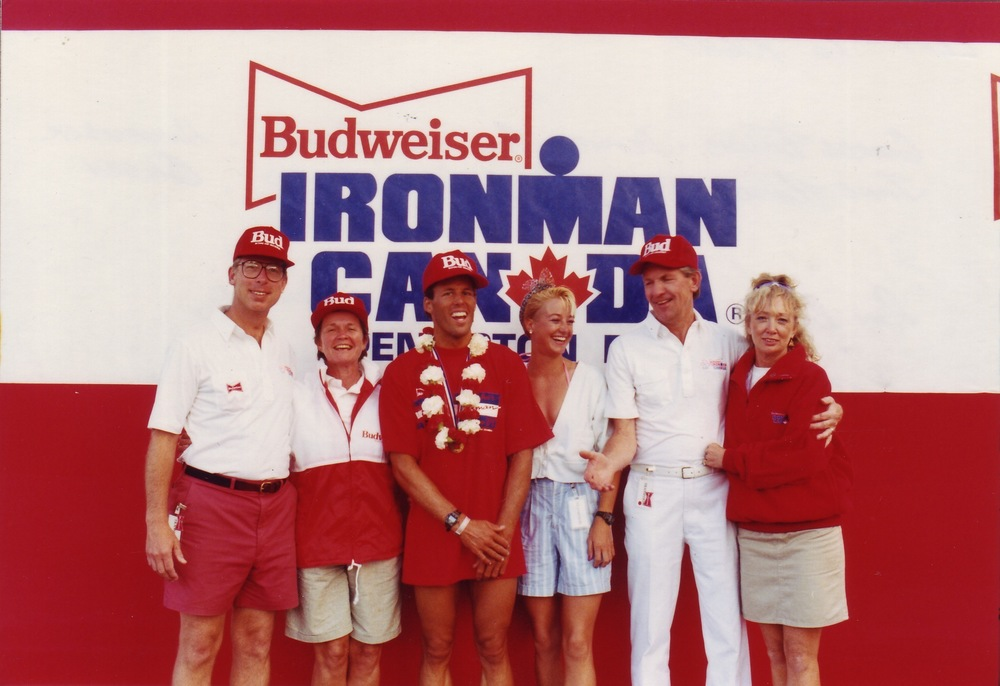 L to R: George Thomas, Anheuser-Busch executive from St. Louis, his wife Jane, Ray Browning and his partner, Howie Larke, Lynn Van Dove