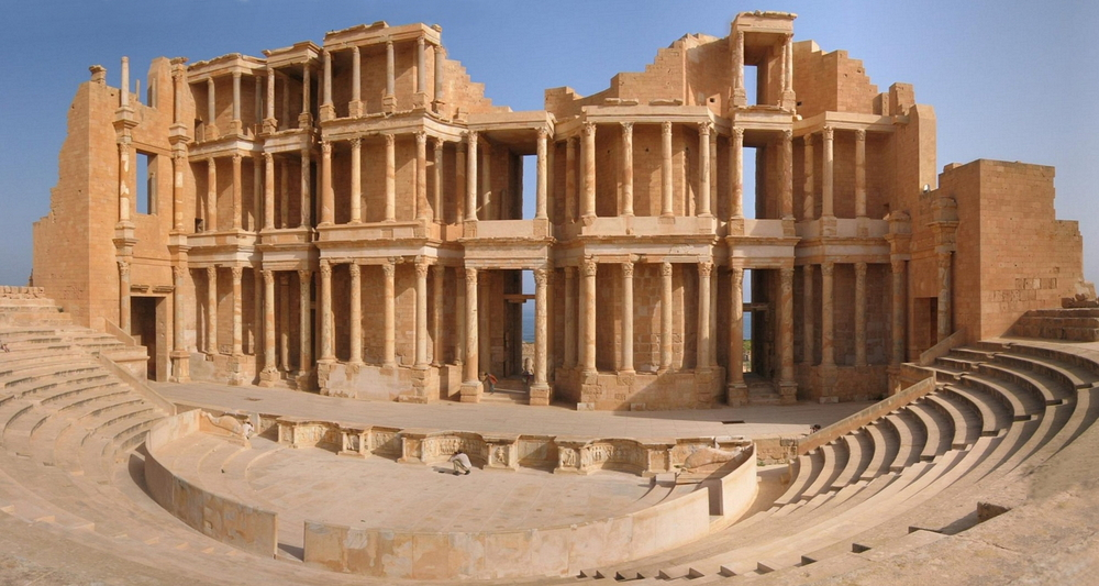 But there was, oddly, a more direct connection: those 1969 rehearsals were supposed to lead to their first live performance in three years, and Paul McCartney's dream was for The Beatles to make their triumphant return with a concert in North Africa—amphitheaters in El Jem, Tunisia and Sabratha, Libya were booked.
