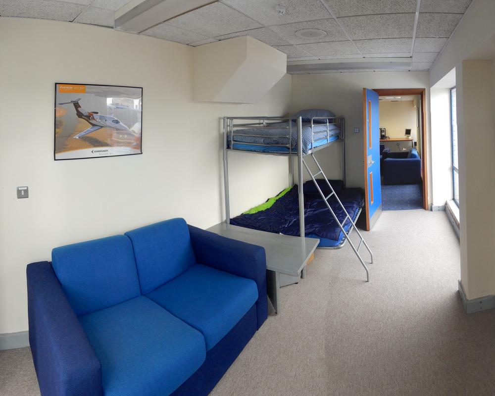 Dedicated Crew Rest Area