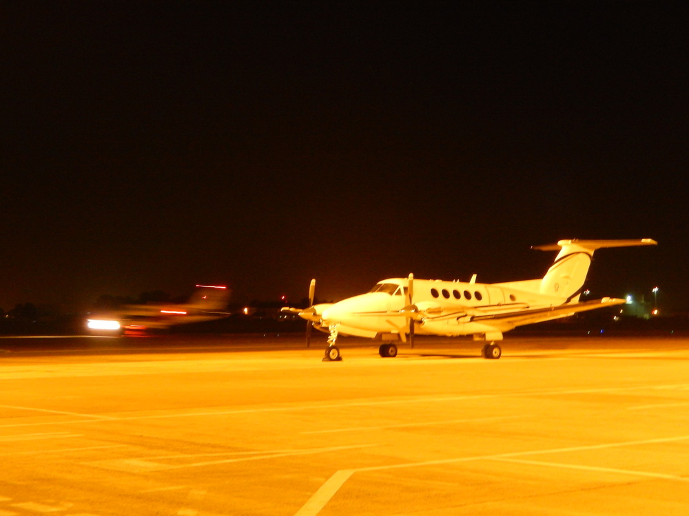 Two King Air's on Medical flights during the night