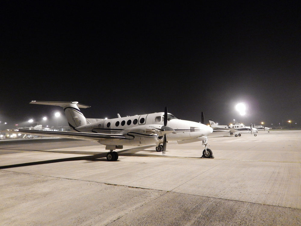 Three King Air's for a Surgical Team & Organ transportation