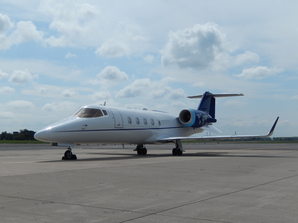 Learjet 60 from the United States on a Patient repatriation during their Tech Stop from Greece to USA