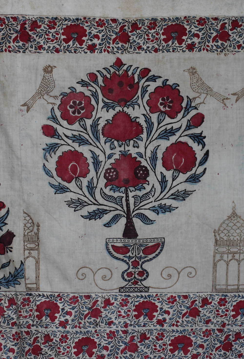 C18th Persian block print