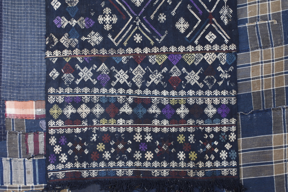 Vietnamese weft Inlay