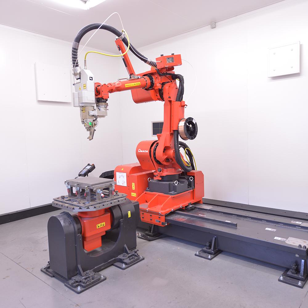 Soudeuse laser automatique avec et sans fil