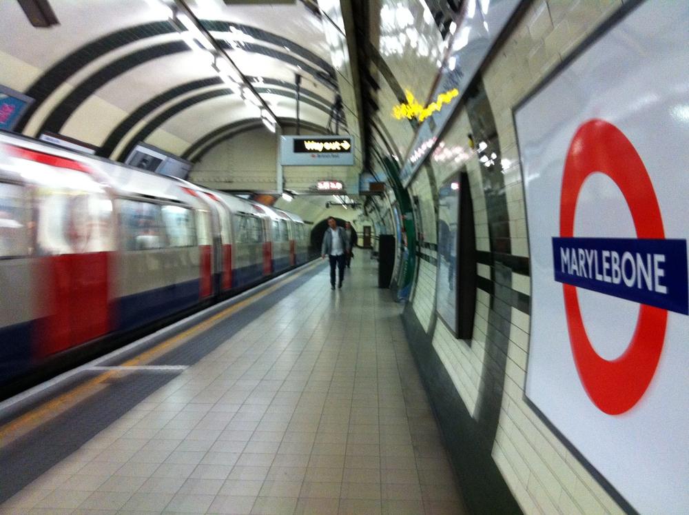 Marylebone tube station, London