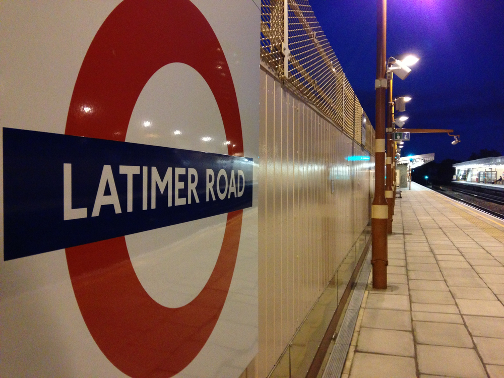 Latimer Road tube station, London