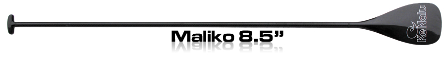 "For larger, more powerful paddlers, even those used to smaller conventional paddles, we recommend the Maliko. At 8.5"" X 16"" and 95 square inches (613 sq cm), it's a very powerful paddle, but the the wobble-free design means it's easy on your arms and shoulders. Most racers and surfers will find the Maliko to be ideal. It hits the sweet spot for combining power and rapid recovery to give the greatest efficiency."