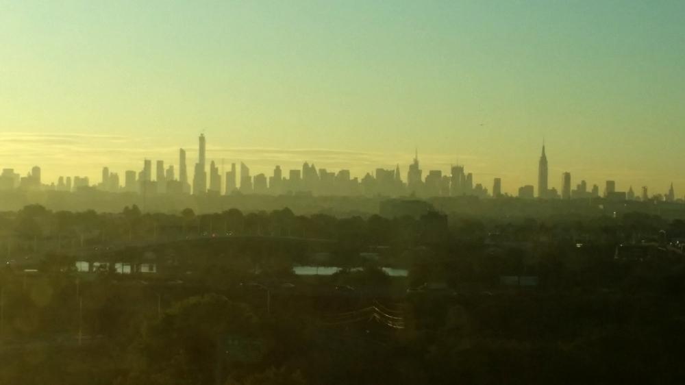 NY Dawn Skyline