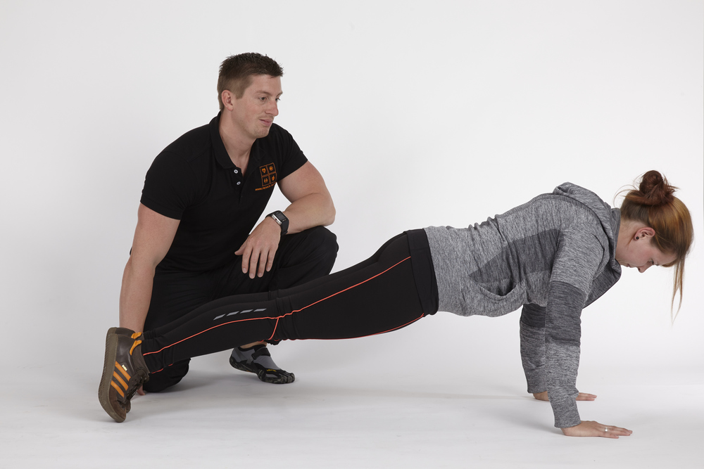 Trunk Stability Pushup