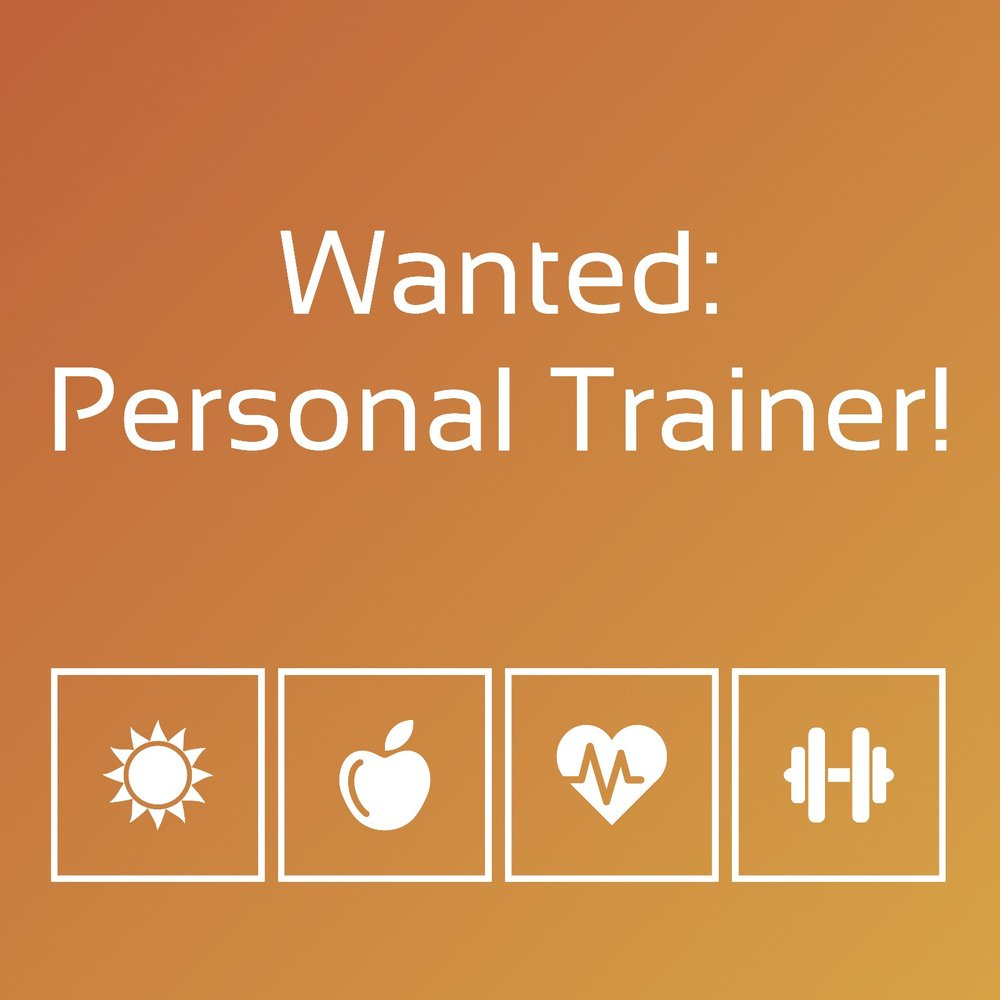 Personal Trainer wanted.jpeg