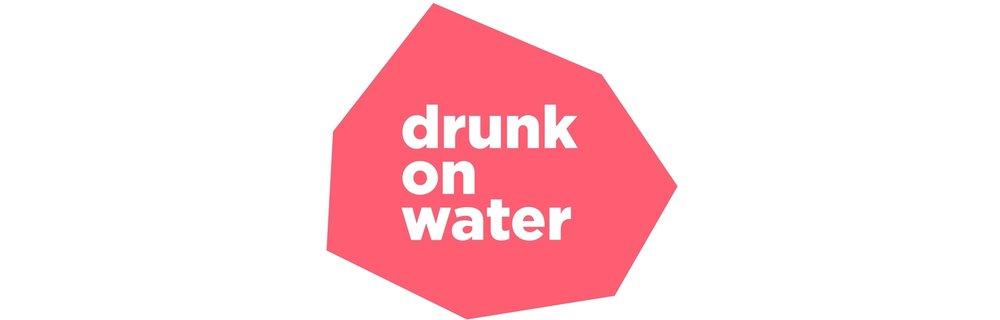 Drunk on Water homewares brand logo