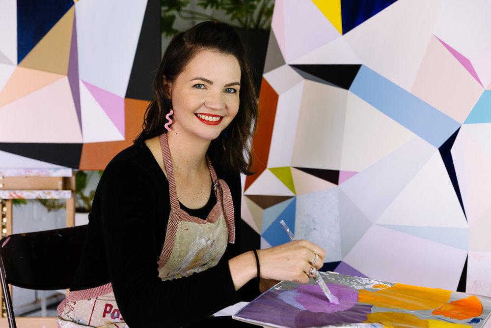 Melbourne artist Susie Monte