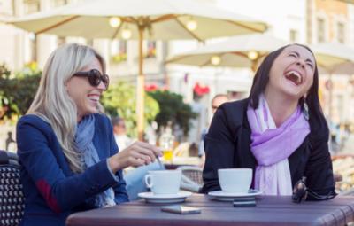 La risa es buena para la mente y para el cuerpo.