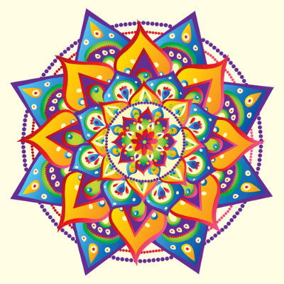 Mandala: La técnica del mandala.