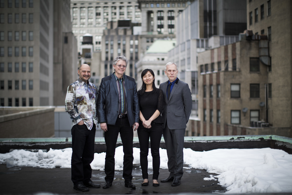 Kronos Quartet has been performing together for more than 40 years.