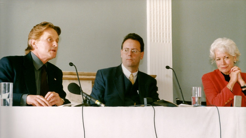 co-chairing with Michael Douglas