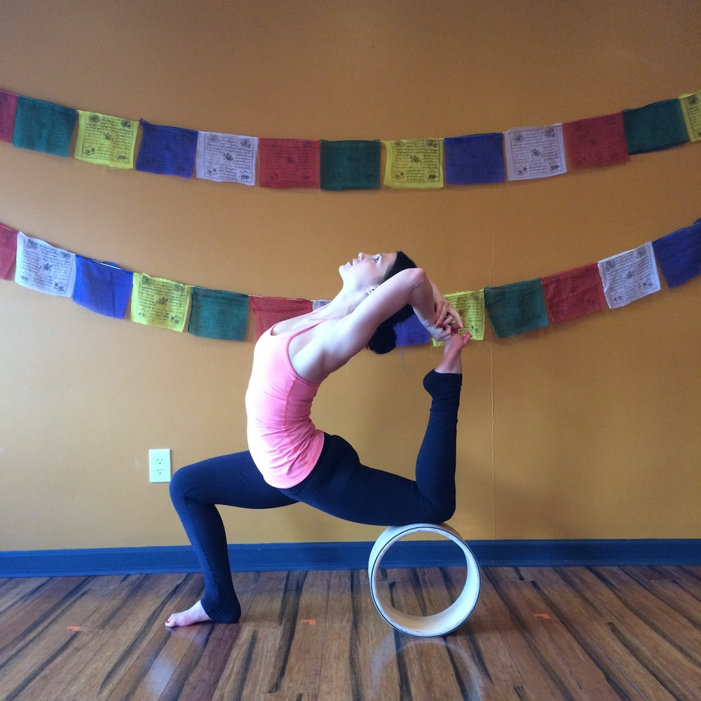 Yoga Wheel, backbend