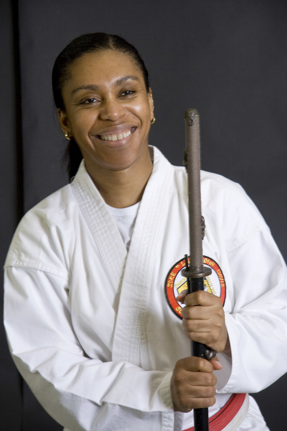 Chungsanim Master Dominick Brioche  is a native of Haiti, and a three time Black Belt Hall of Fame inductee,. She holds a 6th degree Black Belt in Jujitsu, a 4th degree in HapKiDo, and a 4th degree in TaeKwonDo. Dominick is the first and only female Shihan in Kumite Ryu Jujitsu under Soke Lil John Davis. Certified as International Instructor in HapKiDo, Dominick has hosted seminars in New York City, Delaware, Washington DC, Haiti and the Dominican Republic. In her constant pursuit of excellence, ChungSaNim is furthering her formal education in Philosophy at the Doctorate level.